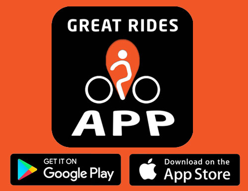 Download the Great Rides App