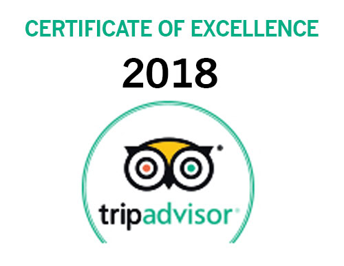 SiloStay - Trip Advisor Award of Excellence 2018