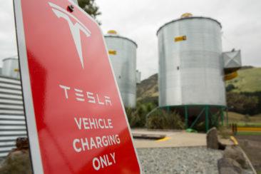 Tesla at SiloStay